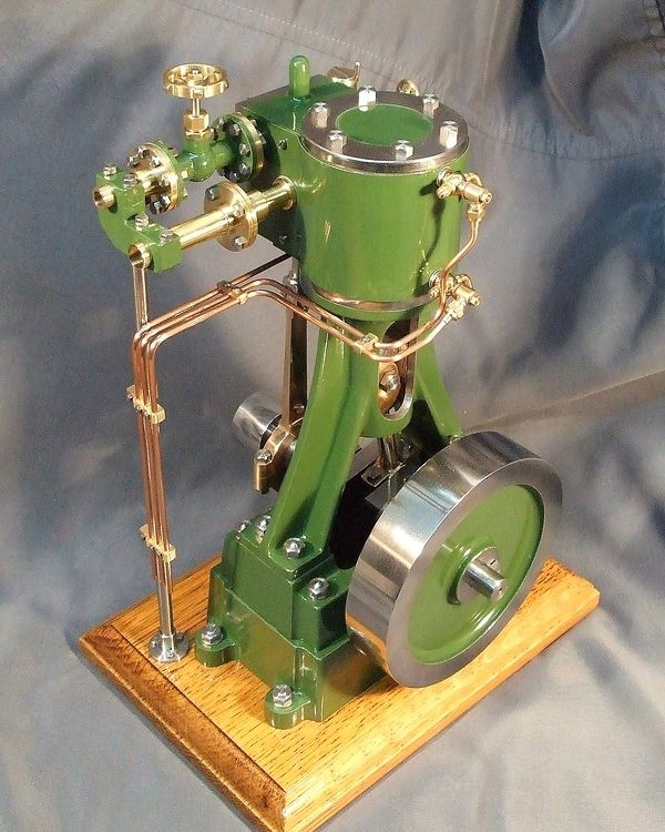(Vertical Industrial Steam Engine)