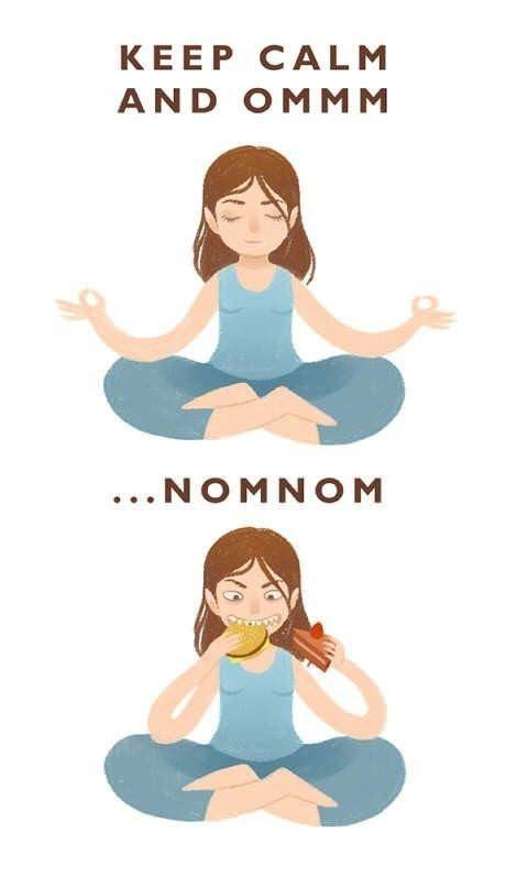 My favorite kind of yoga lol