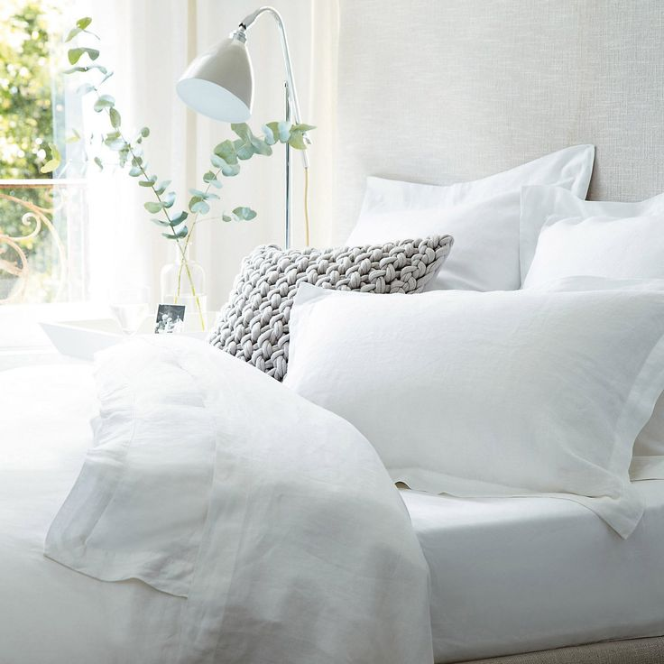 Vintage Washed Bed Linen   Bed Linen   Sale   The White Company UK