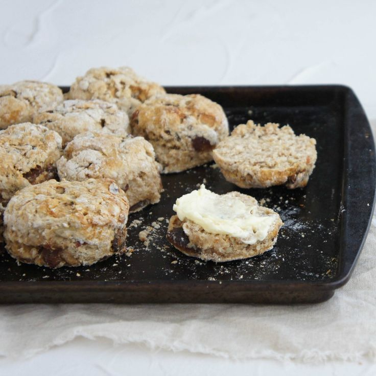 Wholemeal Date Scones by mrsradiant for afternoon tea, anyone?