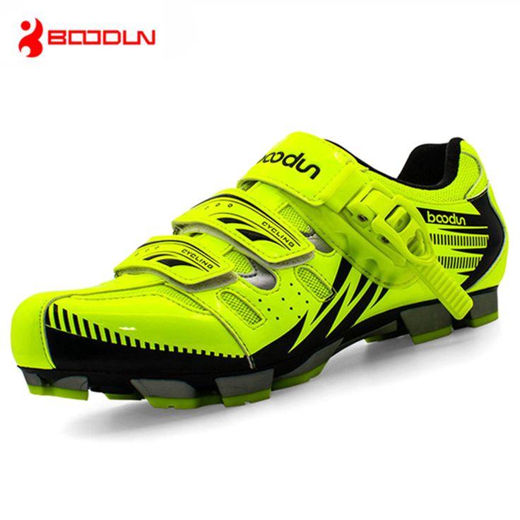 BOODUN Men Mountain Bike Shoes Vtt Cycling Sneakers Breathable Zapatillas Deportivas Hombre Self-Locking Zapatos Ciclismo
