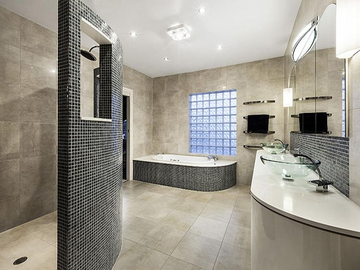 Tiles In A Bathroom Design From An Australian Home
