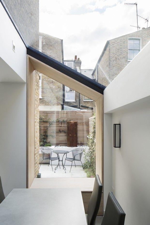 Extension contemporaine d'une maison victorienne à Londres par YARD architects - Journal du Design