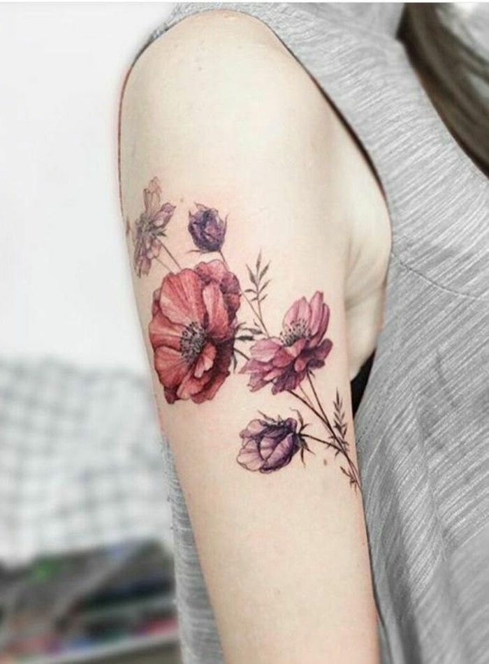 1001 Ideas De Tatuajes De Flores En Diferentes Estilos Significados De Tatuajes De Flores Tatuajes De Flores Tatuajes