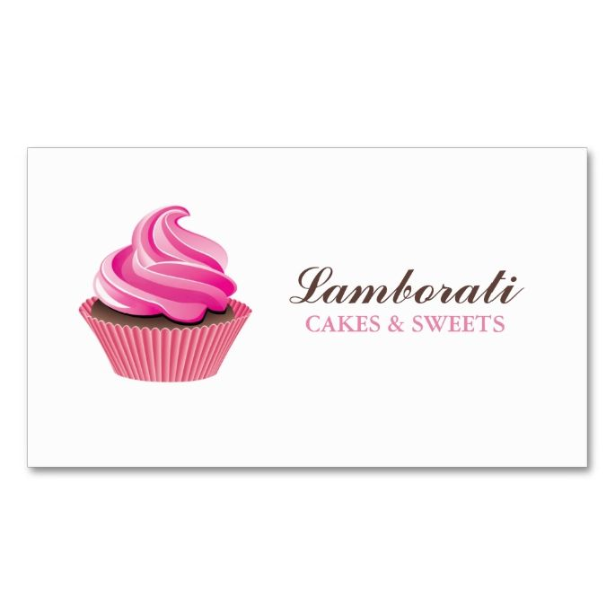 1042 best cupcake business cards images on pinterest business card design business cards and. Black Bedroom Furniture Sets. Home Design Ideas