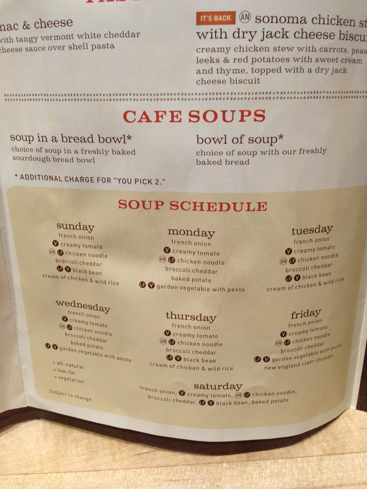 Panera soup schedule.: Gotta Feelings, Resume, Summer 2015, Favorite Things, Panera Soups, Menu, Resume Design, Soups Schedule, Resume Templates