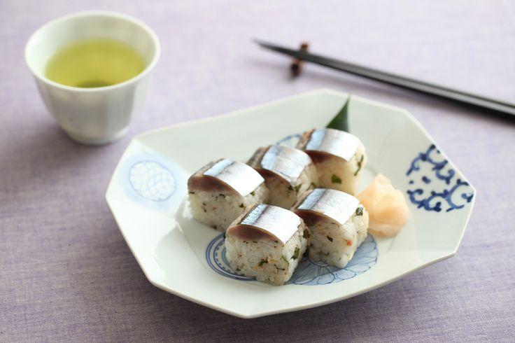 「暮らし上手」×MATCHA 料理上手の晩ごはん「サンマの棒寿司」