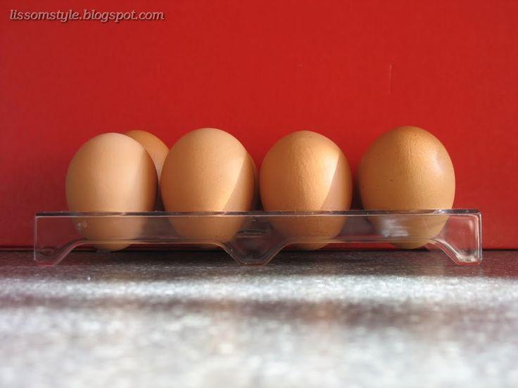 Блог ленивой 'домашней жены': Хранение яиц по-японски