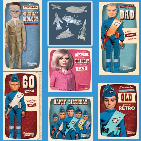 New Official Thunderbirds Cards now available direct from publishers with Free UK Delivery at https://www.danilo.com/Shop/Cards-and-Wrap/Thunderbirds-Cards