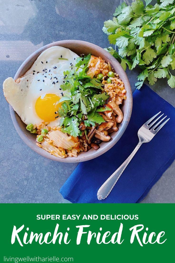 Easy kimchi fried rice recipe in 2020 kimchi fried