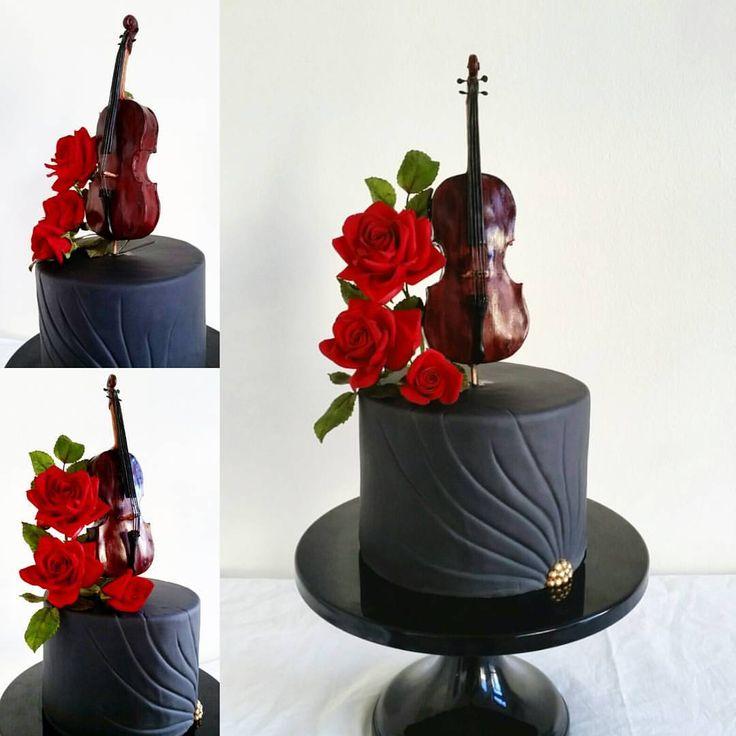 Violin: Cake Art, facebook