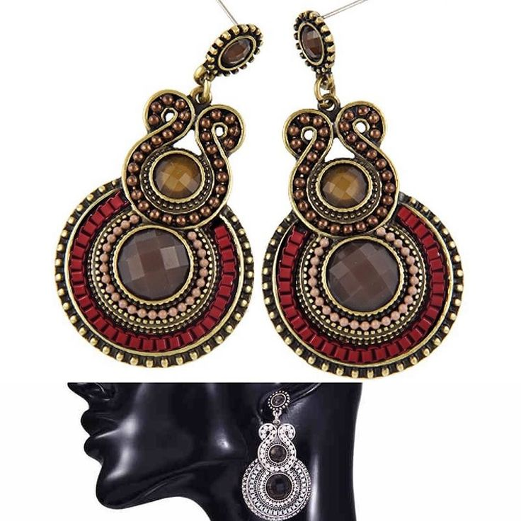 Available @style_by_sr  Item: Antique Bohemia Style Enamel Beads Drop Statement Earring  PKR: 1299/- $12.9  Free Delivery in PK . . . . . . .  #onlineshopping #shoppingonline #onlineshoppingpakistan #onlineshoppingpk #jewelry #jewellery #earstuds #earrings #earings #traditionaljewellery #freedelivery #lahore #lahoreshop #lahoreshopping #style_by_sr