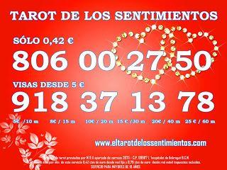 Tarot visa 10 €, Tarot 806 económico, consulta tarot visa
