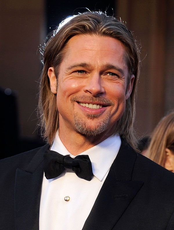 The Most Insanely Hot Pictures of Brad Pitt  - MarieClaire.com