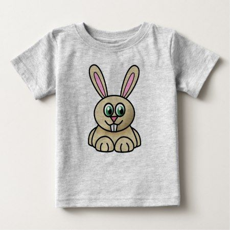 Easter Bunny Baby T-Shirt - click/tap to personalize and buy