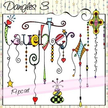 how to draw dangles letter s