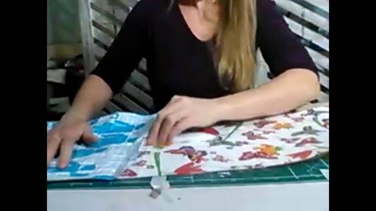 Impermeabilização de tecido para usar em artesanatos