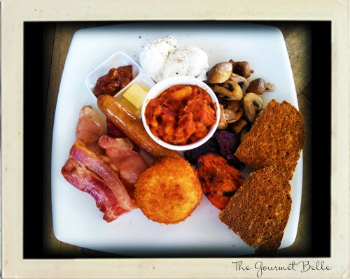Big Breakfast at Foxy Bean in Woolloongabba, Brisbane. #breakfast #brunch #Brisbane #cafe #coffee