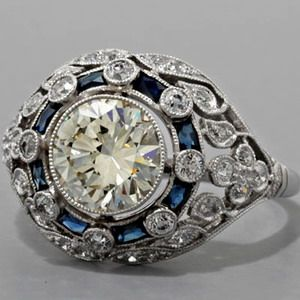 : Vintage Ring, Antique Engagement Rings, Vintage Wedding, Style, Diamond, Jewelry, Wedding Rings, Antiques