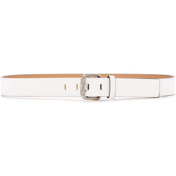 Michael Kors Casual Panel Belt ($17) ❤ liked on Polyvore featuring accessories, belts, white, adjustable belt, reversible belt, michael kors belt, michael kors and white belt
