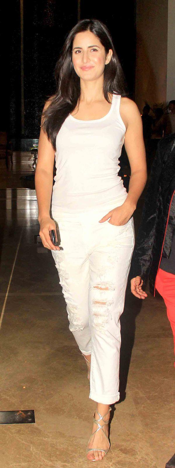 Katrina Kaif at Farah Khan's 50th birthday bash.