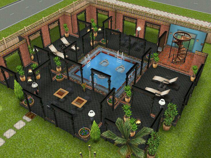 12 best sim freeplay images on pinterest house design for Garden design sims 4