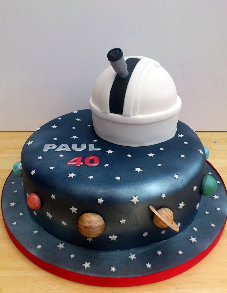 Themed Cakes Astronomy Themed Novelty Cake with Observatory « Susie\'s Cakes