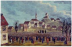 The Ustertag meets near Zurich on 22 November 1830.