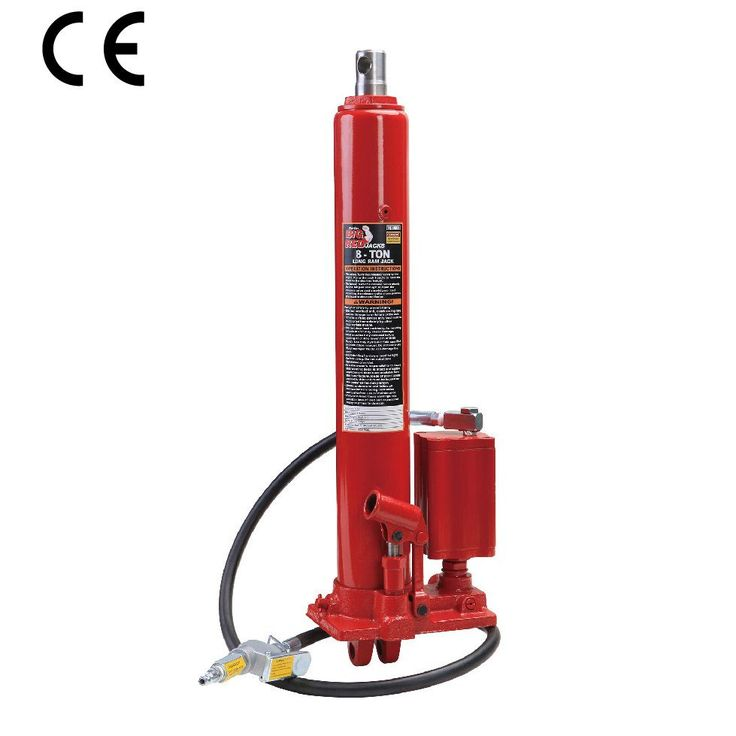 Pneumatikus-hidraulikus munkahenger pumpával 8t