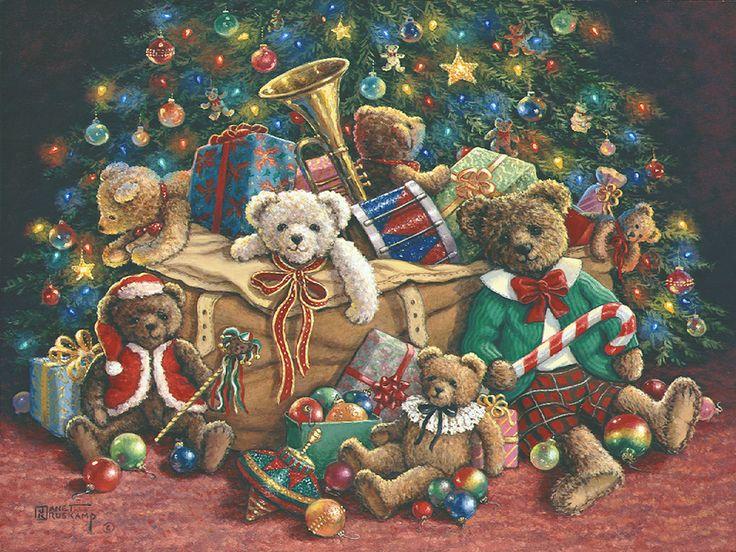 26 best teddy bear christmas images on Pinterest   Teddy bears ...