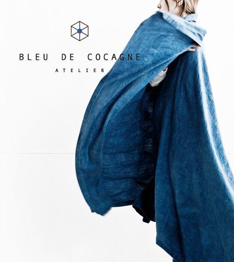 Bleu de Cocagne pictures from our Japanese distributor Rakuten!    #bleudecocagne #pastel #woad #blue #natural #slowfashion #sustainable #consciousfashion #japan #rakuten