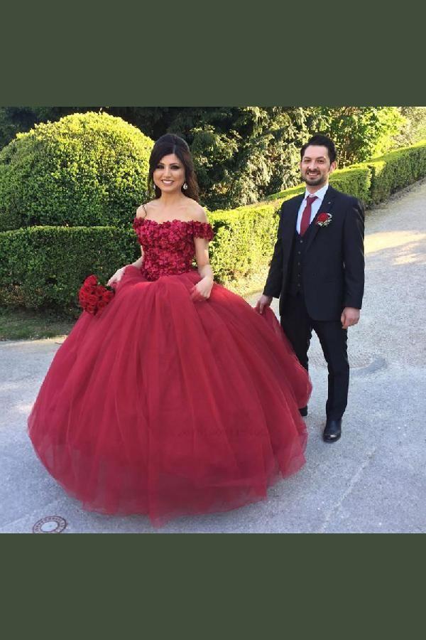 c2e26f5cccd Custom Made Dazzling Ball Gown Wedding Dress Floral Flower ...