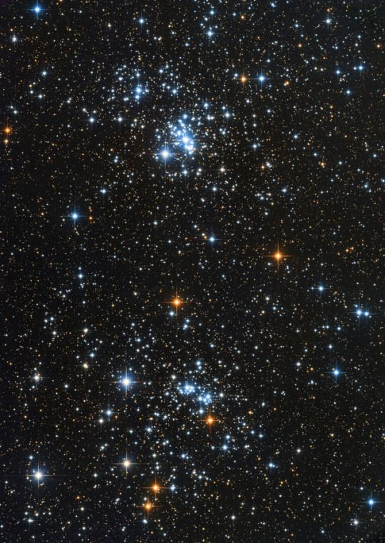 A Double Star Cluster (NGC869 and NGC884 in Perseus)    Image credit: Oleg Bryzgalov