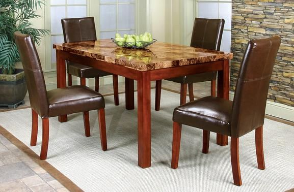 the helena may dining room | Helena 5 Pc. Dinette | Delightful Dining Rooms | Pinterest ...