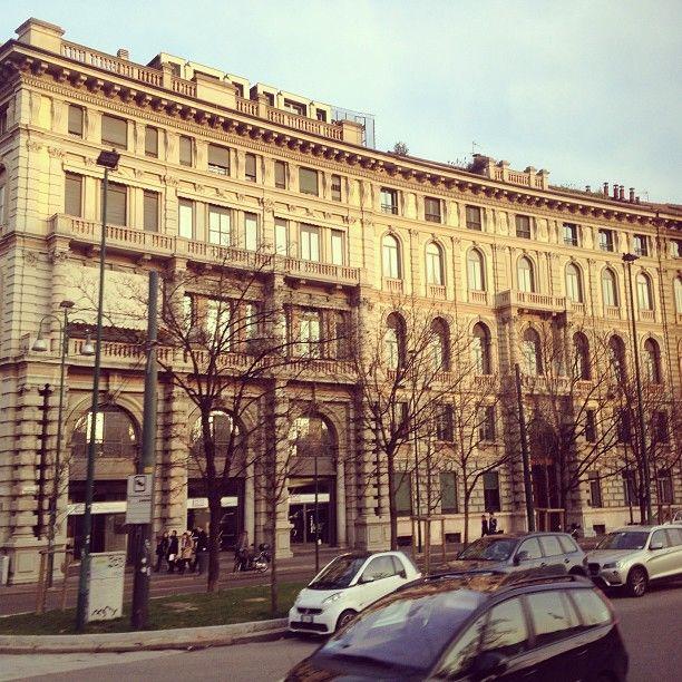 Foro Buonaparte nel Milano, Lombardia