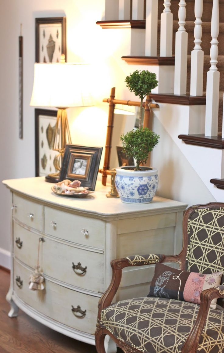 Front Foyer Furniture : Dresser repurposed as entry table home sweet