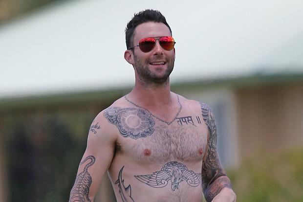 adam levine tattoos - 620×413