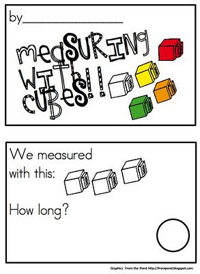 free printable non standard measurement math activities using cubes, paperclips and sticks
