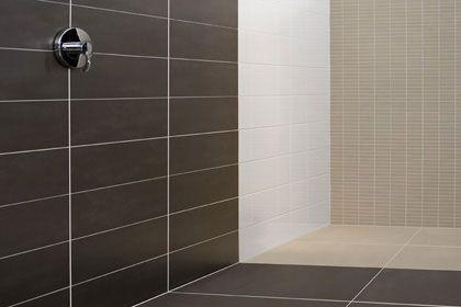 Badkamer tegels google zoeken badkamer pinterest - Tegels taupe ...