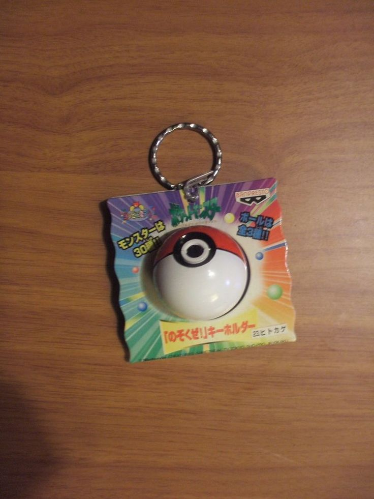 Nintendo Pokemon Charmander Viewer Keychain Japanese Pokeball Toy Rare #Tiger