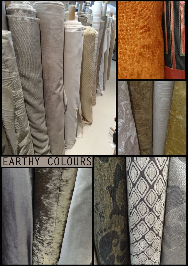 Earthy Fabrics