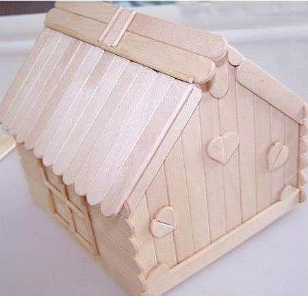 How to DIY Popsicle Stick House   iCreativeIdeas.com Follow Us on Facebook --> https://www.facebook.com/icreativeideas