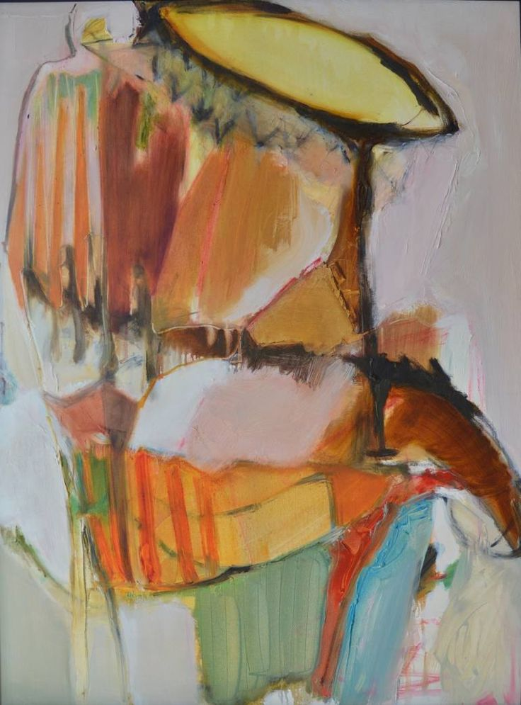 """Saatchi Art Artist Janice Sztabnik; Painting, """"The summer of '98, sunflowers and, waiting for you!"""" #art"""