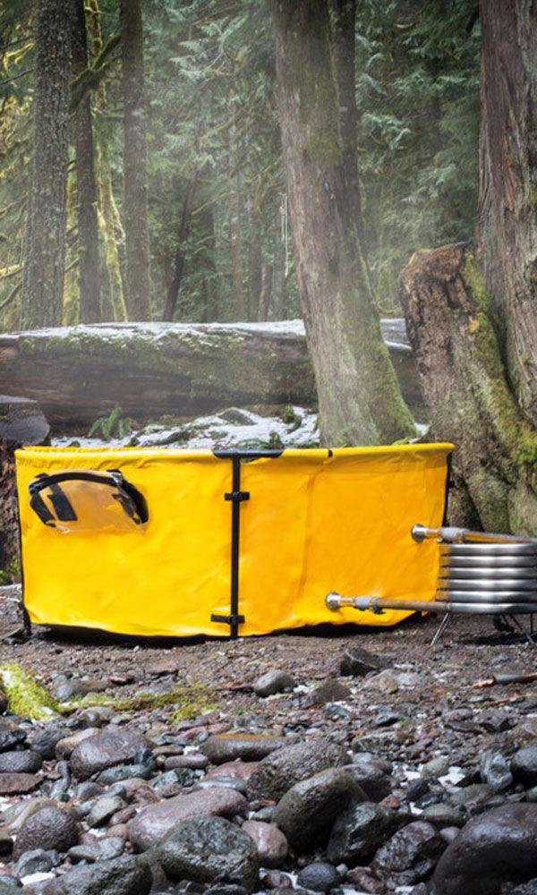 The Collapsible Hot Tub You Need....see the learn more at the bottom of the picture