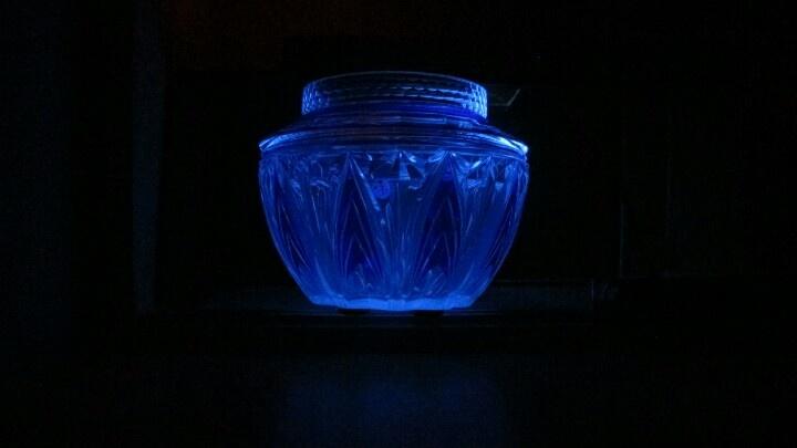 UV- kristallen vaas