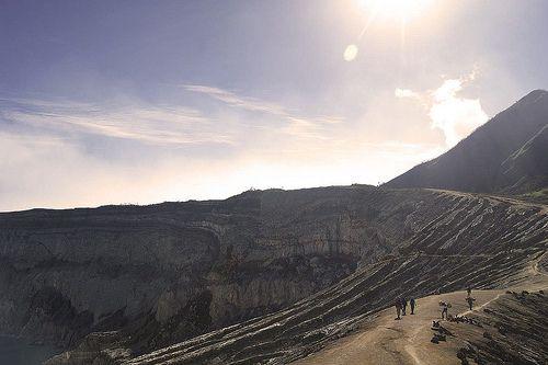 Ijen Crater - Indonesia #Nature #Crater #Mountain #Sulphur #Indonesia