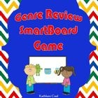 $$This is a SmartBoard game to review literary genres.  There are a total of 18 questions.  Each question is a book description where students have t...