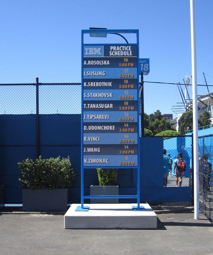 tennis schedule screen 1