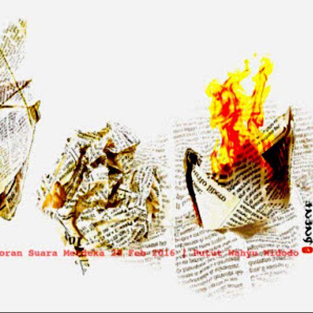 Tulisan Rahmy Madina yang berkisah tentang nasi bungkus diterbitkan koran