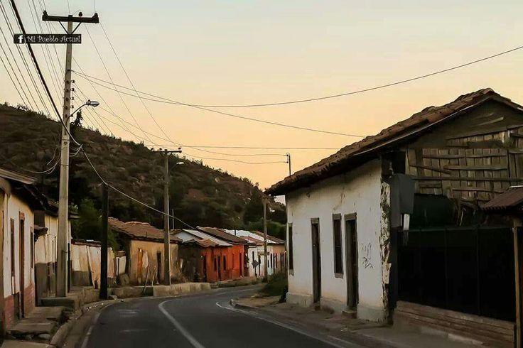 Calle Juan Rozas. Putaendo